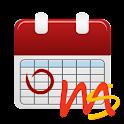 Family calendar icon