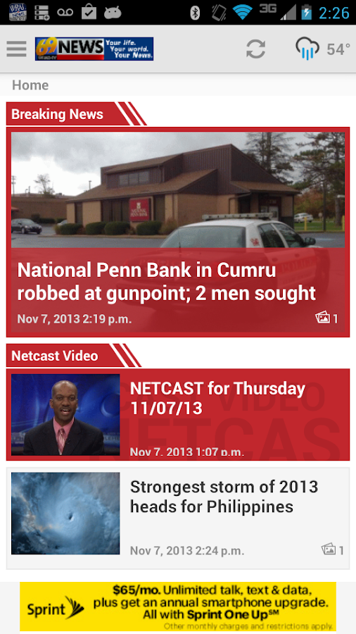 69News Mobile - screenshot