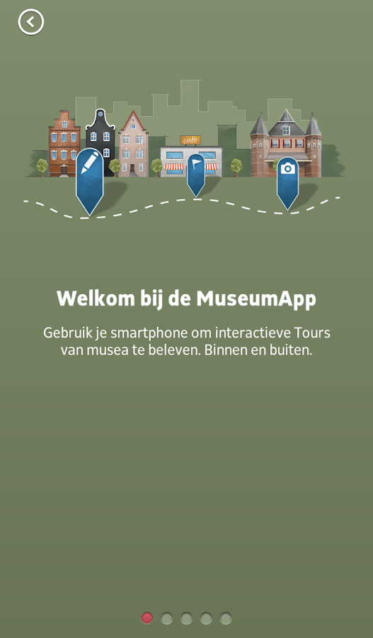 MuseumApp- screenshot