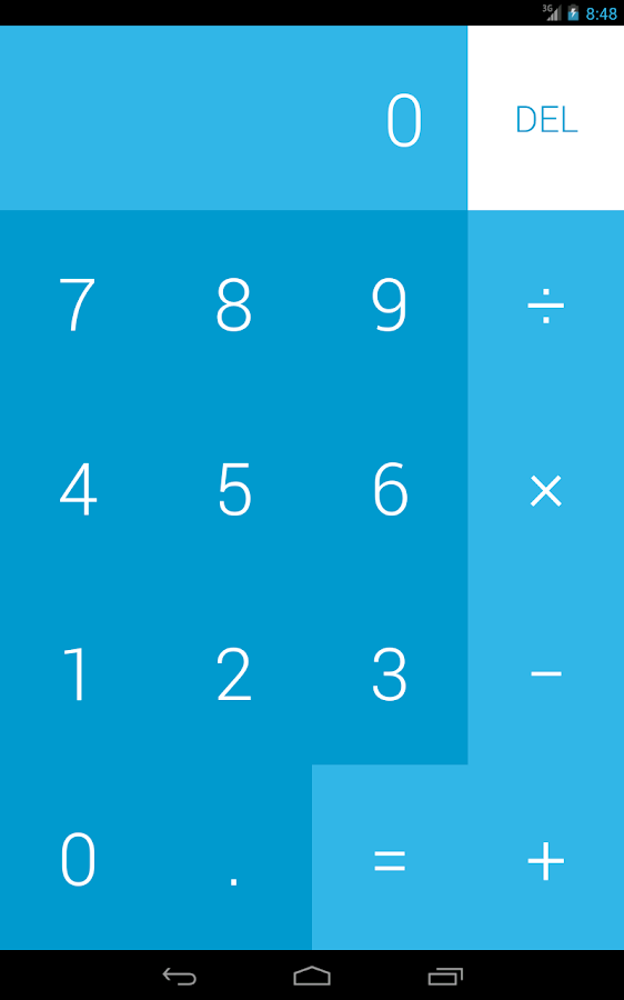 FlatCalc Scientific Calculator - screenshot