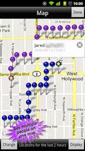 GPS Phone Tracker Lite - screenshot thumbnail