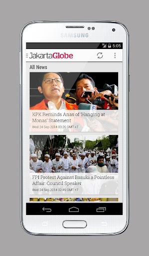 Jakarta Globe Touch