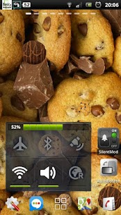 Chocolate Cookies Crunch LWP - screenshot thumbnail