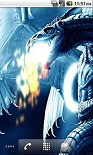 Blue Dragon Wallpaper Live