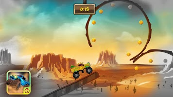 Screenshot of Monster Ride HD - Free Games