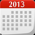 Calendar 2013 icon