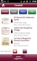 Screenshot of Carrefour Vin