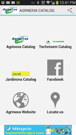 Agrinova Catalogs