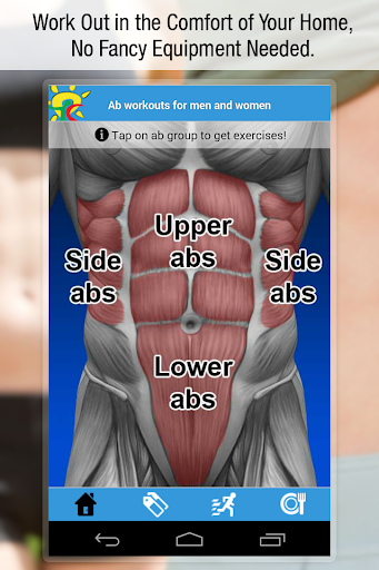 Ab workouts for men women