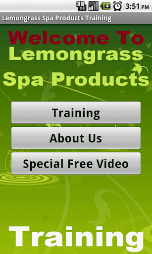 in Lemongrass Spa Products Biz