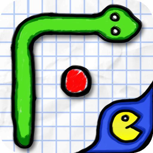 街機App|Doodle Snake ???? LOGO-3C達人阿輝的APP
