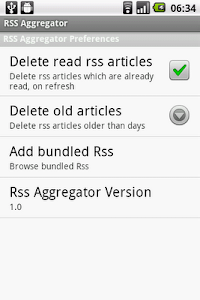 Rss Aggregator screenshot 3