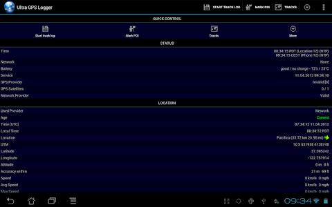 Ultra GPS Logger v3.090a