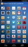 Screenshot of Faience XHDPI