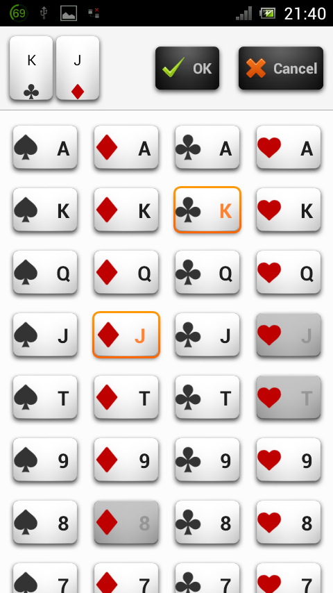 Best poker odds calculator android