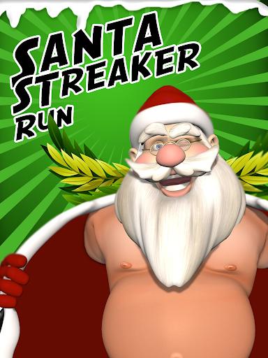 Santa Streaker Christmas Game