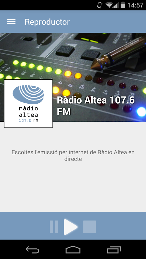 Ràdio Altea- screenshot