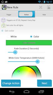 AutomateIt LIFX Plugin- screenshot thumbnail