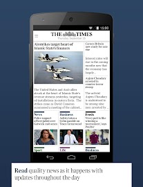 The Times & The Sunday Times Screenshot 1