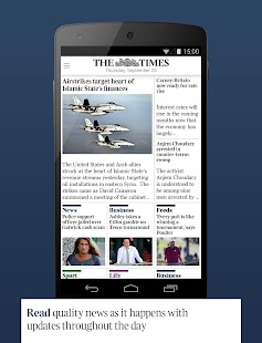 The Times & The Sunday Times - screenshot thumbnail