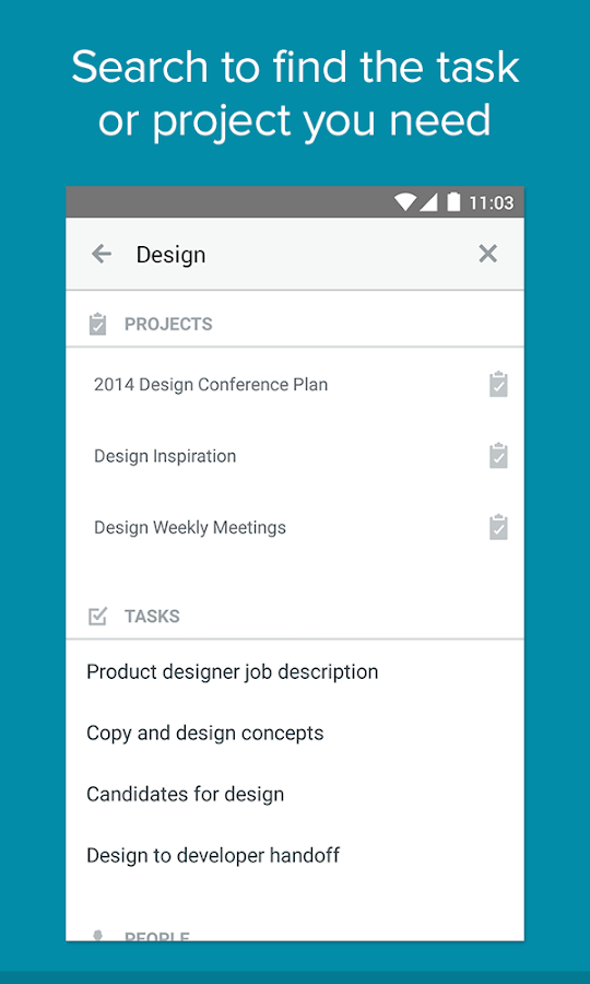 Asana - screenshot