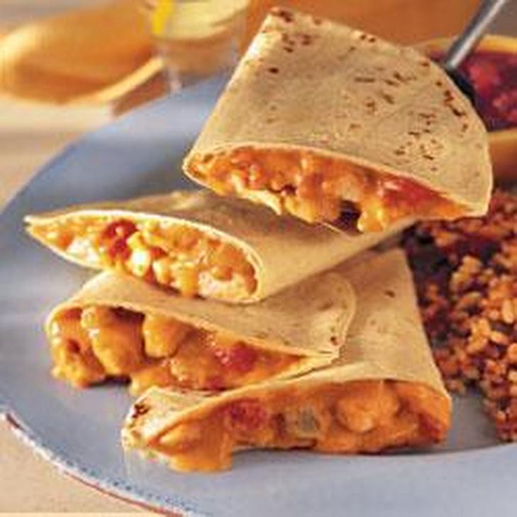 Cheesy Chicken Quesadillas