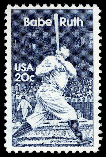 Image result for babe ruth stamp