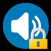 音量モードロック (音量ボタンの誤操作防止)