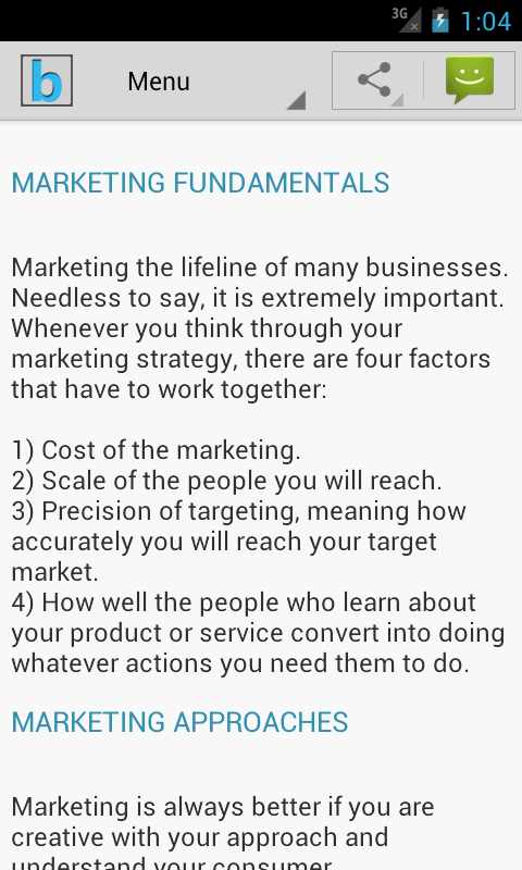 Marketing Plan & Strategy- screenshot
