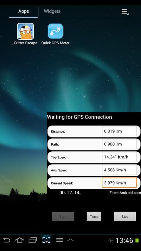Quick GPS distance meter free- screenshot