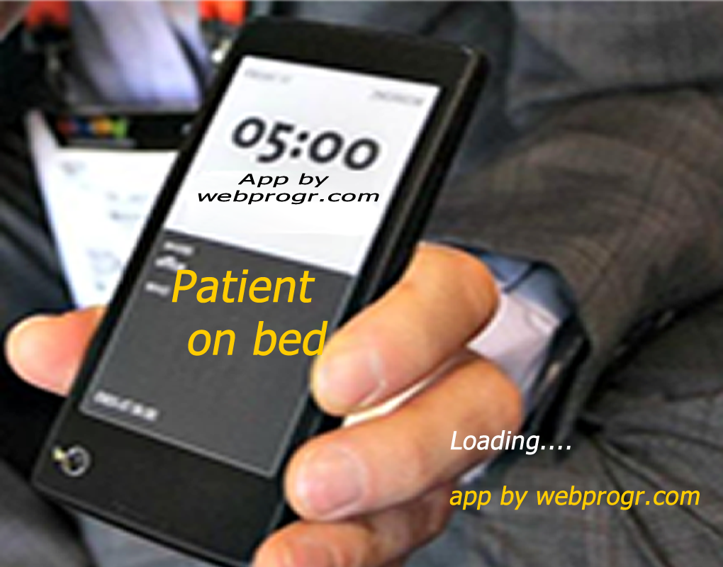 mobile apps for patient on bed