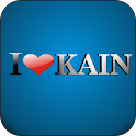 I Love Kain doo-dad logo