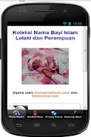 Screenshot of 1001 + Koleksi Nama Bayi Islam