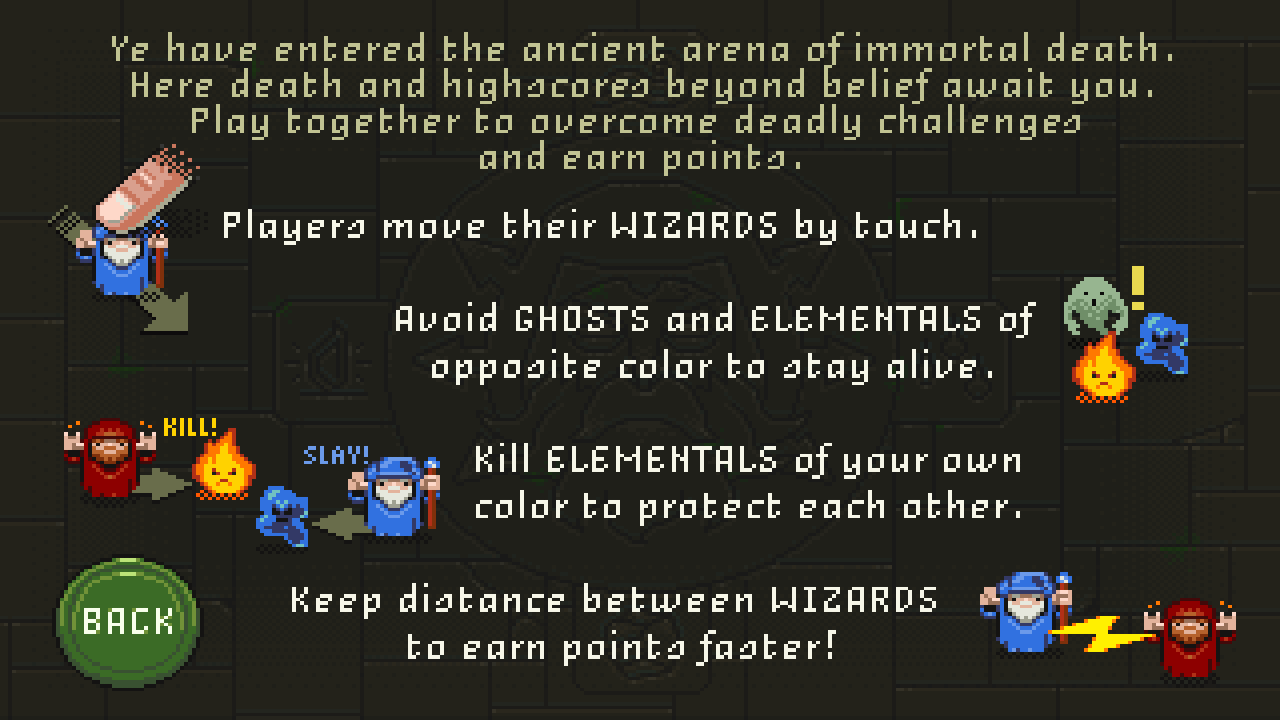 Wizards of the Finger- screenshot
