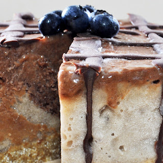 Raw Vegan Ice Cream Cake ... For Breakfast!