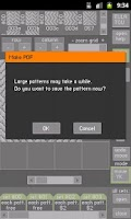 Screenshot of YouKnits Designer C