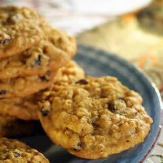 Pumpkin-Oatmeal Raisin Cookies.