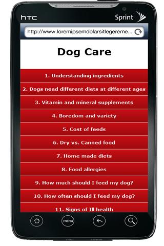 Dog Care Free