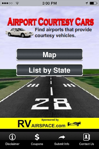 Airport Courtesy Cars