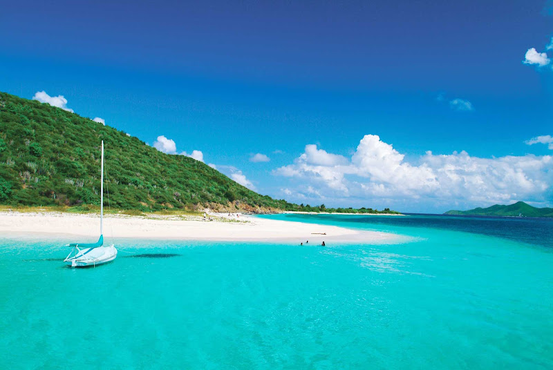 Family time on St. Croix can include a sailing and snorkeling trip to Buck Island with Big Beard's Adventure.