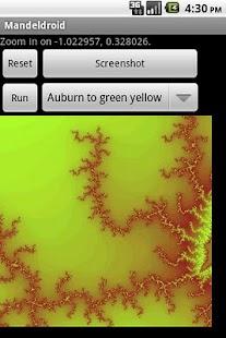 Mandeldroid- screenshot thumbnail