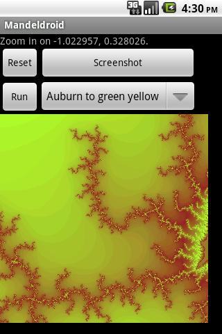 Mandeldroid- screenshot