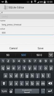 SQLite Editor - screenshot thumbnail