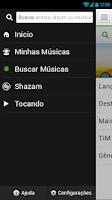 Screenshot of TIM music