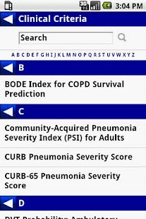 MedCalc 3000 Pulmonary - screenshot thumbnail