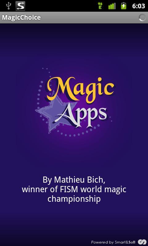 MagicChoice- screenshot