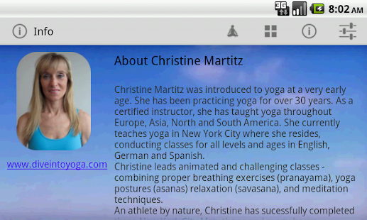 Dive into Yoga- screenshot thumbnail