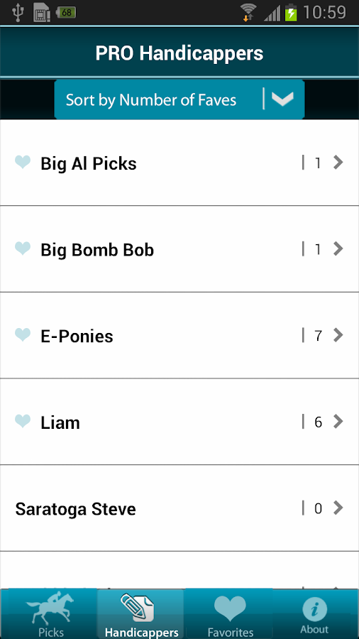Pro Picks Mobile- screenshot