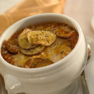 Eggplant Parmesan Soup.