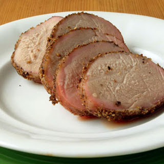 Smoky Peppered Pork Tenderloins